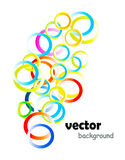 Ring background Stock Photography