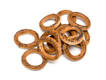 Ring bagels Royalty Free Stock Images