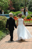 Ring Bearer And Flower Girl Royalty Free Stock Images