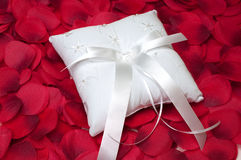 Ring Bearer's Pillow Royalty Free Stock Photography