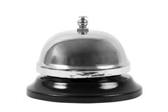 Ring Bell Royaltyfri Bild