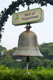 Ring the Bell of Happiness of Mount Faber Royalty Free Stock Image