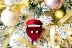 Ring The Bells, It's Christmas - Holiday Gift For Her royalty free stock image