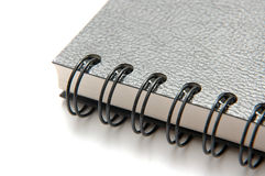 Ring Bind Black Book. Closeup of Ring Bind Black Book Stock Photography