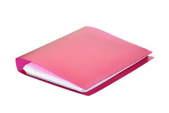 Ring binder. Ring binder on white background Stock Image