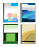 Ring Binder. 3d style ring binder to use for minisite graphics Stock Photos