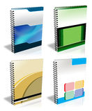 Ring Binder. 3d style ring binder to use for minisite graphics Royalty Free Stock Photos