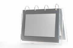 Ring binder empty photo frame Royalty Free Stock Photos