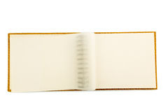 Ring binder in front of white background Stock Photo