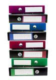 Ring Binders Stock Image