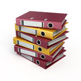 Ring binders Stock Photos