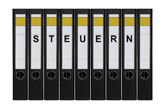 Ring binders Stock Images