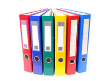 Ring binders royalty free stock photos