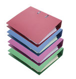 Ring Binders Royalty Free Stock Photography