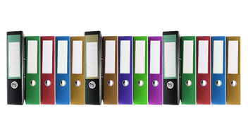 Ring Binders Royalty Free Stock Photo
