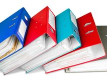 Ring Binders Royalty Free Stock Images
