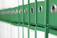 Ring Binders, het bureauplank van het Dossierarchief Royalty-vrije Stock Afbeelding