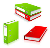 Ring binders set Stock Photography