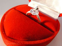 Ring in boll close-up Royalty Free Stock Images