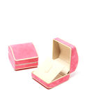 Ring box. Is intended to put a ring on special occasions Stock Photo