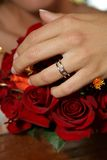 Ring of bride Royalty Free Stock Photography
