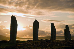 Ring of Brodgar stock image