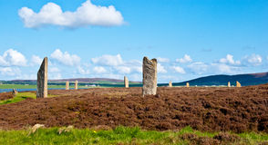 Ring of Brodgar Royalty Free Stock Photography