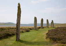 Ring of Brodgar Royalty Free Stock Photos