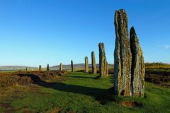 Ring of Brodgar Royalty Free Stock Image