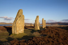 Ring Of Brodgar. Orkney. World Heritage Site Royalty Free Stock Images