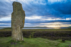 Ring of Brodgar Scotland stock photography