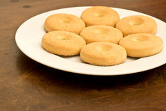 Ring cookies Stock Photography