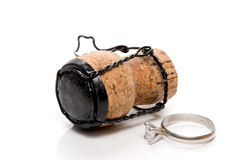 Ring and Cork Stock Photography