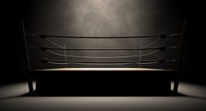 Ring de boxeo clásico del vintage Foto de archivo