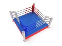 Ring de boxeo. 3d de alta resolución rinden. Imágenes de archivo libres de regalías
