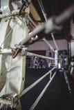 Ring de boxeo en estudio de la aptitud Fotos de archivo