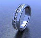 Ring der Diamanten Lizenzfreie Stockbilder