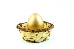 Ring des strahlenden Golds Lizenzfreie Stockfotografie