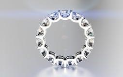 Ring with diamond. Stock Photo