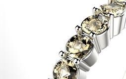 Ring with diamond. Stock Photos