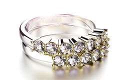 Ring with diamond Royalty Free Stock Photography
