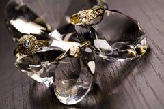 Ring -Diamonds background royalty free stock photo
