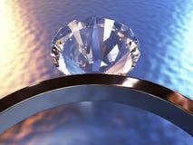 Ring Dimond Immagine Stock Libera da Diritti