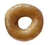 Ring Donut lustrato fotografie stock libere da diritti