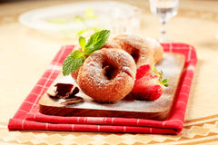 Ring doughnuts Royalty Free Stock Images