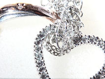 Ring en Hart Neckless Royalty-vrije Stock Afbeelding
