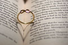 Ring of everlastning love Stock Photos