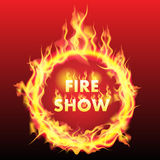 Ring of fire Royalty Free Stock Images