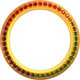 Ring of gems Stock Photos