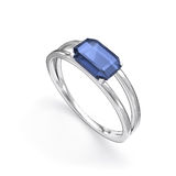 Ring with gemstone Royalty Free Stock Images